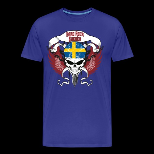 Hard Rock Sweden - blau - Männer Premium T-Shirt