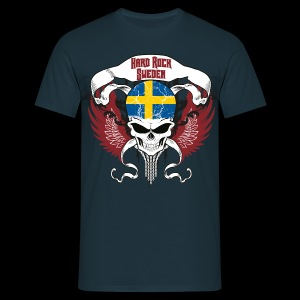 Hard Rock Sweden - blau - Männer T-Shirt