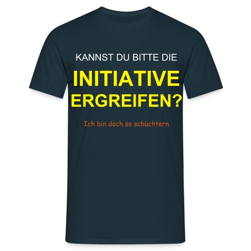 Initiative - Männer T-Shirt