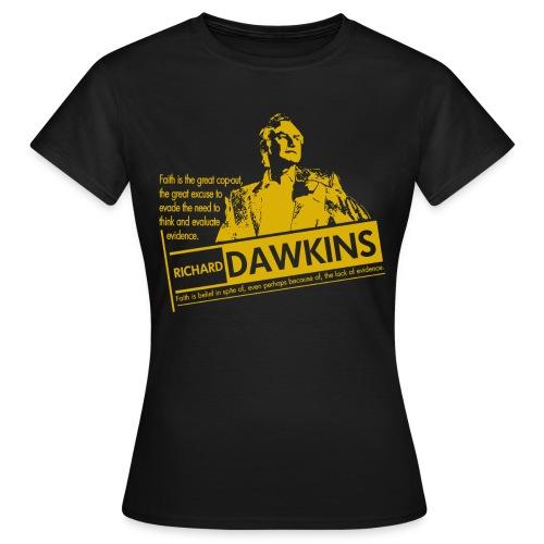 Richard Dawkins - Lack of Evidence  - Women's T-Shirt
