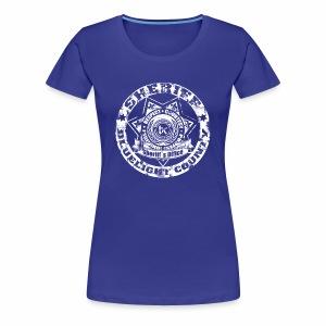sheriff Frauenshirt - Frauen Premium T-Shirt