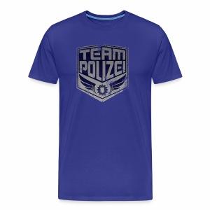 team polizei Männershirt - Männer Premium T-Shirt