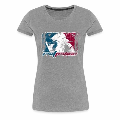 riotpolice grunge Frauenshirt - Frauen Premium T-Shirt