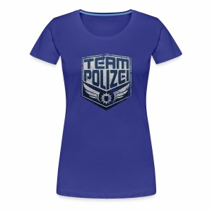 team polizei Frauenshirt - Frauen Premium T-Shirt