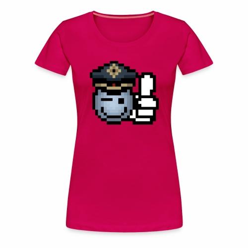 copzone smiley Frauenshirt - Frauen Premium T-Shirt
