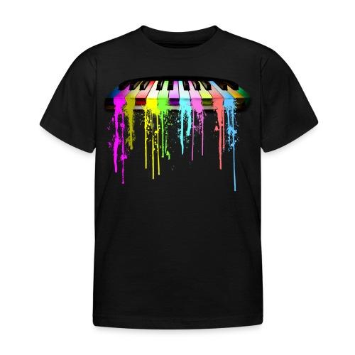 Piano Color - T-shirt barn
