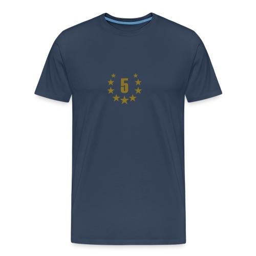 5 - Männer Premium T-Shirt