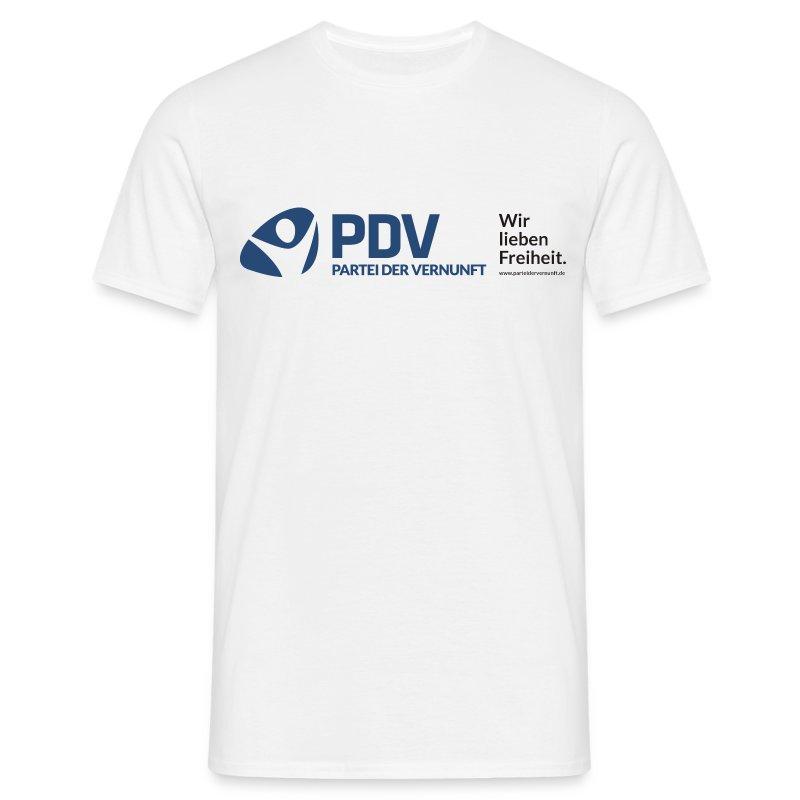 PDV Wir lieben freiheit Männer - Männer T-Shirt