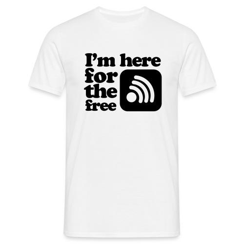 Free Wifi - Männer T-Shirt