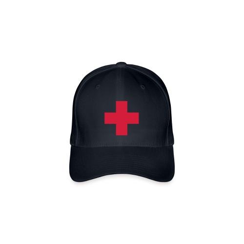 casquette croix rouge - Casquette Flexfit