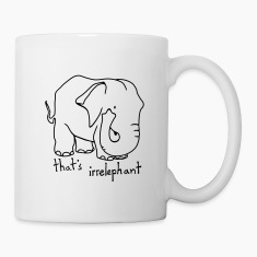 Irrelephant Züge Mug