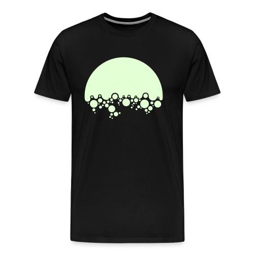 Bulles de disque vinyle - T-shirt Premium Homme