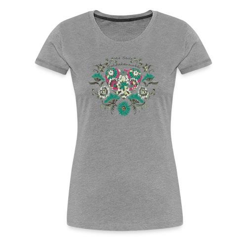 Mit Stolz Soldatenmutti Herbst 2013 - Frauen Premium T-Shirt