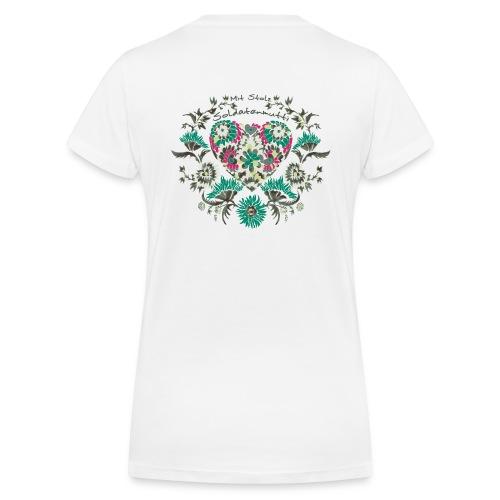 V-Ausschnitt Soldatenmutti - Frauen Bio-T-Shirt mit V-Ausschnitt von Stanley & Stella