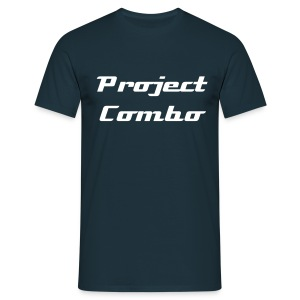 Project Combo Classic Navy - Men's T-Shirt