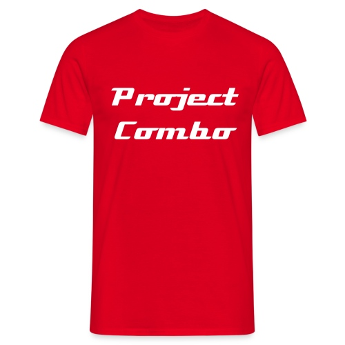 Project Combo Classic Red - Men's T-Shirt