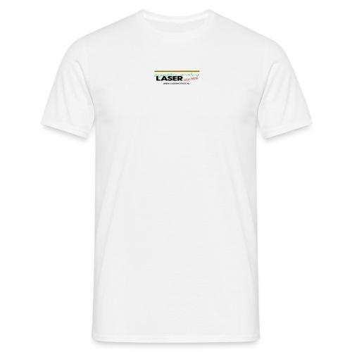 Laser promo shirt - Mannen T-shirt