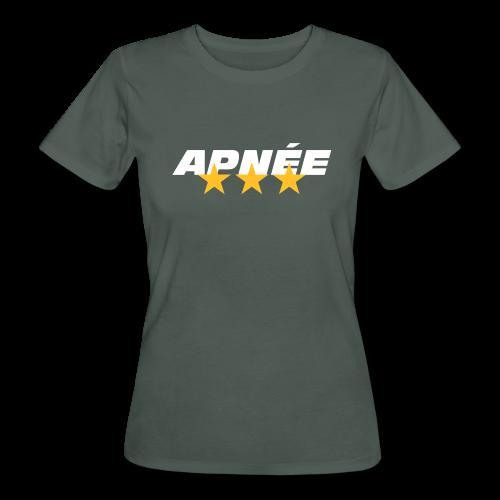T-Shirt Apnée Femme - T-shirt bio Femme
