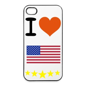 i love america  case - iPhone 4/4s Hard Case