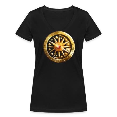 Girlie V-Neck - Frauen Bio-T-Shirt mit V-Ausschnitt von Stanley & Stella