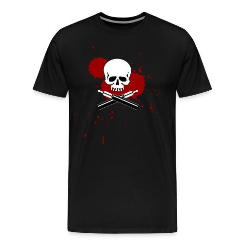Vapeskull Übergröße - Männer Premium T-Shirt