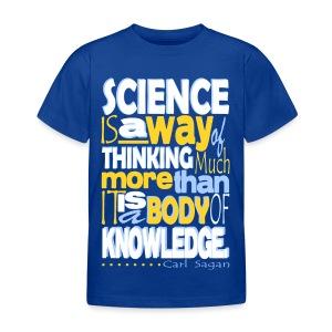 Carl Sagan - Science  - Kids' T-Shirt