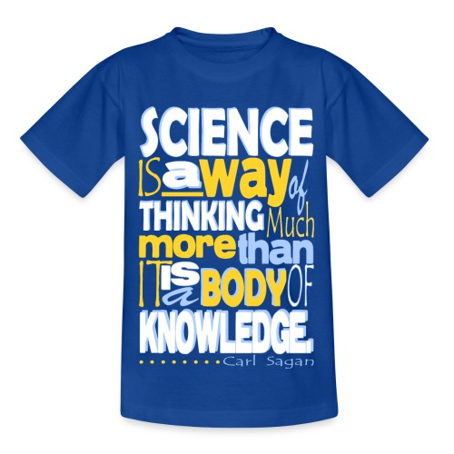 Carl Sagan - Science  - Kids' T-Shirt
