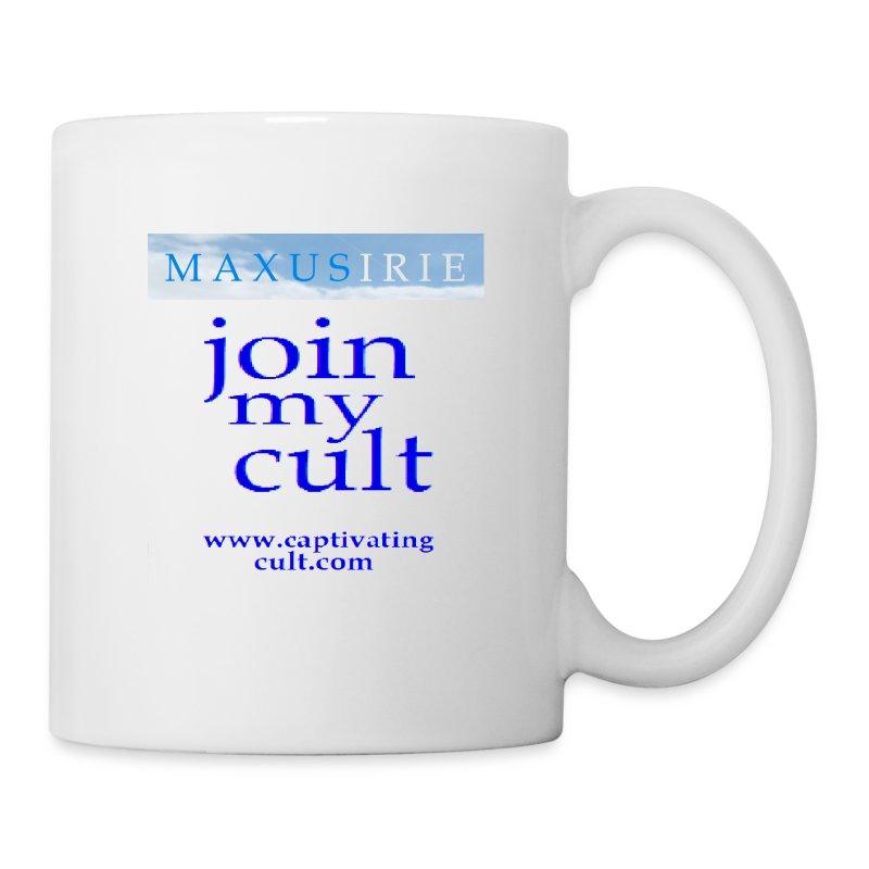 Maxus Irie - join my cult - mug - Mug