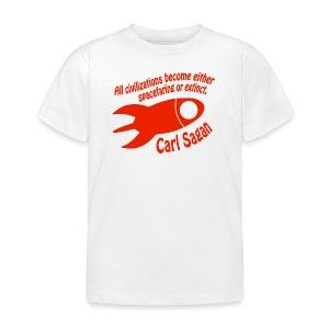 All Civilizations - Carl Sagan  - Kids' T-Shirt