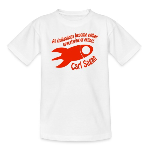 All Civilizations - Carl Sagan  - Kids' T-Shirt