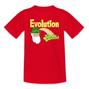 Evolution - it's Naturally Selective - Kids' T-Shirt
