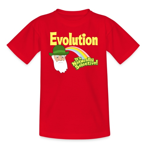 Evolution - it's Naturally Selective - Kids' T-Shirt