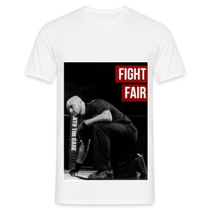 Mens MMA Fashion Hipster Tshirt - 'Fight Fair' - Men's T-Shirt