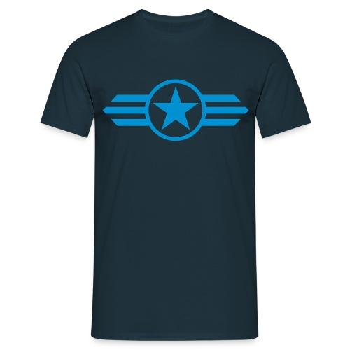 Captain America - Herre-T-shirt