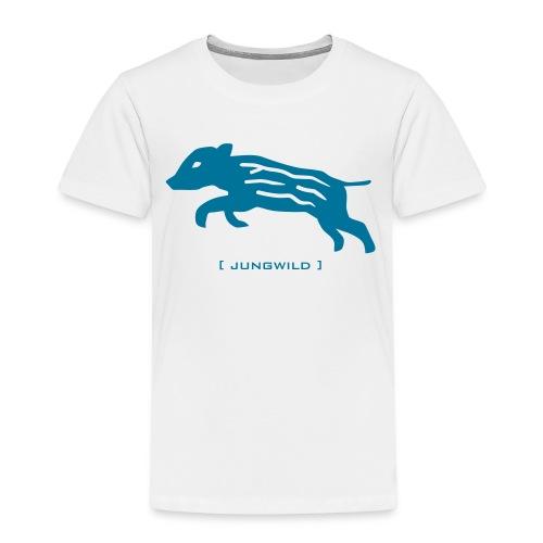 kinder t-shirt frischling wildschwein jungwild - Kinder Premium T-Shirt