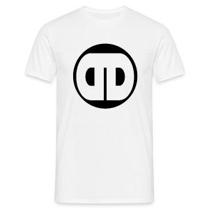 DDz Badge Black - Men's T-Shirt