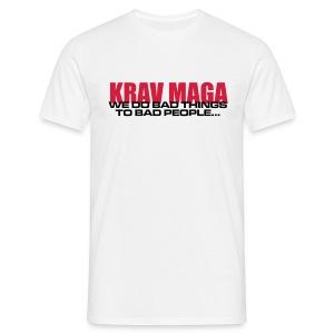 Bad things White - Men's T-Shirt