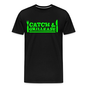 Catch & Grillease - Männer Premium T-Shirt