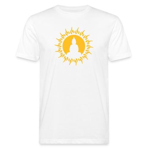 SEI WIE DER BUDDAH - Männer Bio-T-Shirt