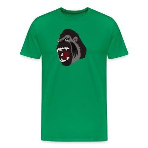 Gorilla Illustration T-Shirt - Men's Premium T-Shirt