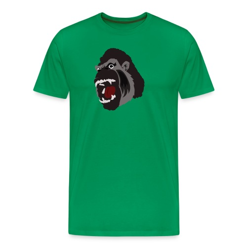 Gorilla Illustration T-Shirt - Men's Premium T-Shirt