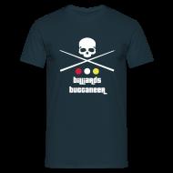 T-Shirts ~ Men's T-Shirt ~ Billiards Buccaneer