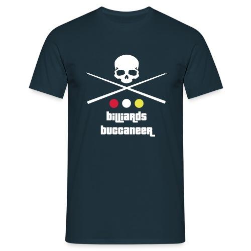 Billiards Buccaneer - Men's T-Shirt