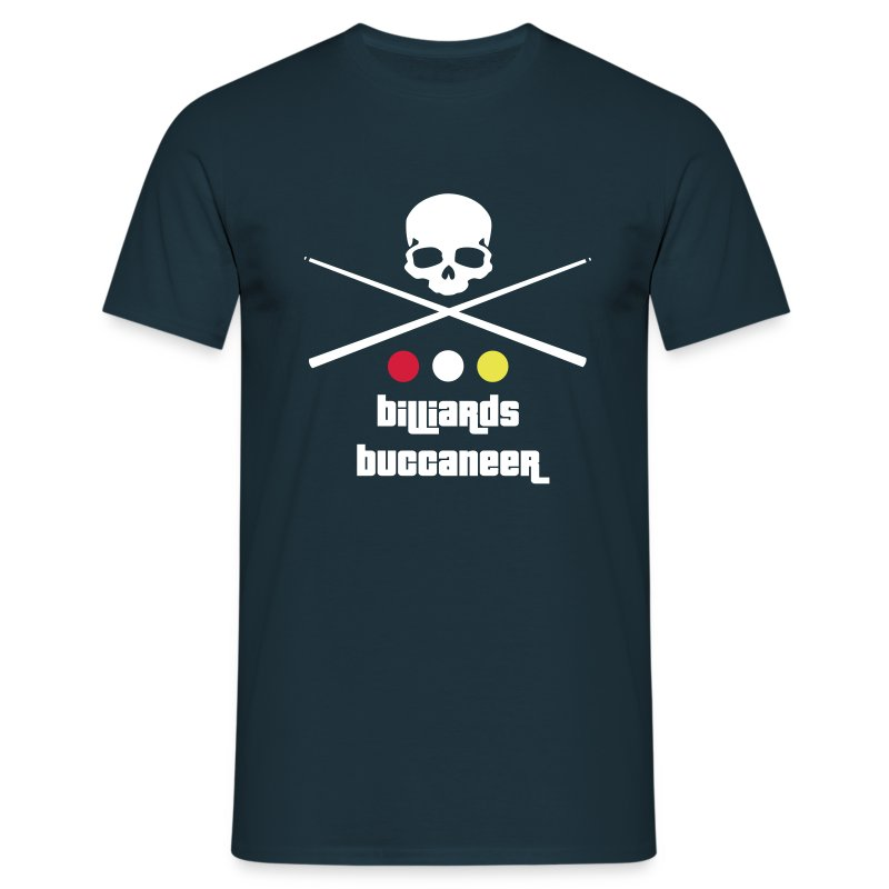 Billiards Buccaneer - Men's T-Shirt