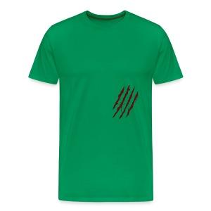 Claw Scratch T-Shirt - Men's Premium T-Shirt