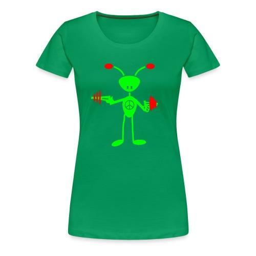 Peace - Frauen Premium T-Shirt
