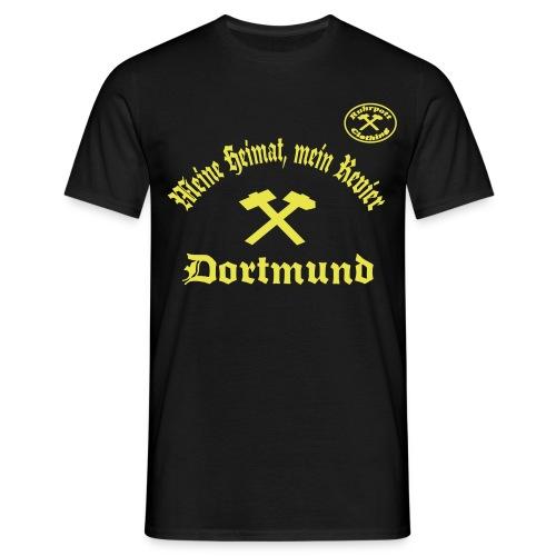 Dortmund - Meine Heimat, Mein Revier - T-Shirt - Männer T-Shirt