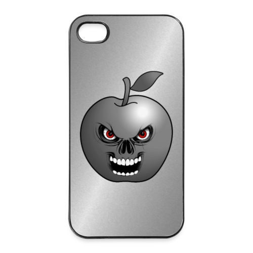 Coque smartphone skull apple - Coque rigide iPhone 4/4s