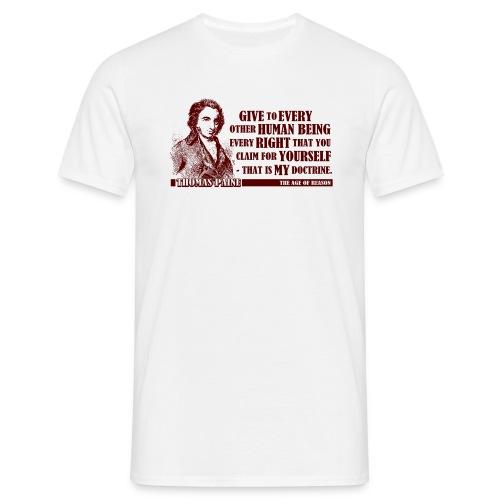 Thomas Paine - The Age of Reason  - Men's T-Shirt