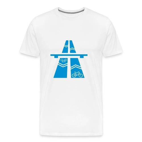 Radbahn - Männer Premium T-Shirt